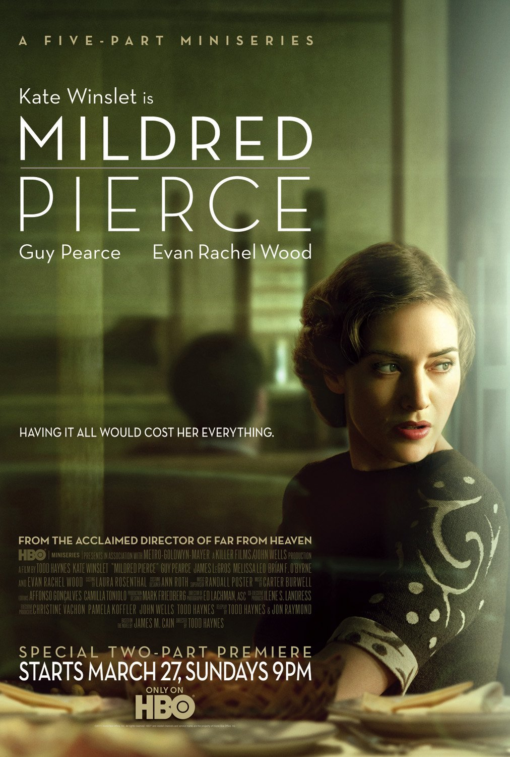 mildred pierce Watch mildred pierce full episodes online instantly find any mildred pierce full episode available from all 1 seasons with videos, reviews, news and more.